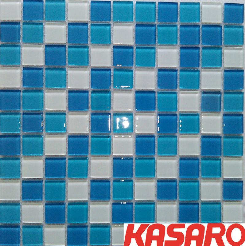 Cozinha parede azulejo mosaico de vidro para piscina - Azulejos para mosaicos ...