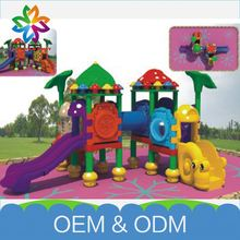 Wholesale Lovely Theme Park Kids Fun Plastic Combined Playground Slide