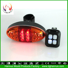 Buy a bicycle in china bright hn-led-b12 six red leds road bike light