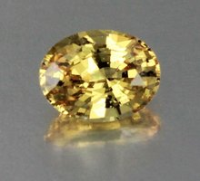 Cheap 2.75 carat vivid color yellow sapphire - unheated & untreated from Sri Lanka!!