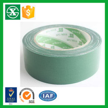Carton packing waterproof Green cloth Duct Tape