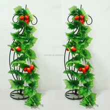hanging artificial strawberry vine wall decoration artificial fruit vine rattan for sale