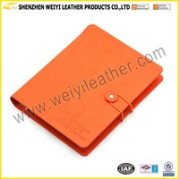 Customized OEM Factory PU Leather Notebook Cover Personal Journal Notebooks