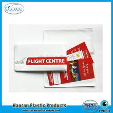 PVC Plastic Lottery Ticket Holder Manufacturer