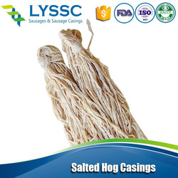 Made in China 30/34 A Good Sausage Hog Nature Casing with Cheap Price and Hog Casings for Casings Makers