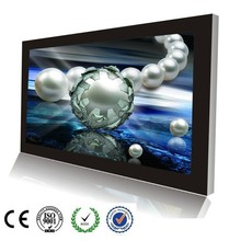 42 inch wall mount advertising display, WIFI advertising player, touch screen ad panel