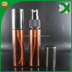 pe semitransparent 30ml plastic liquid detergent bottle with sprayer