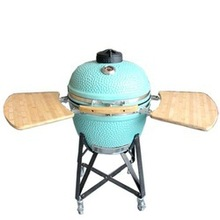 Glossy Royal Ceramic Used Grill Smoker for Sale