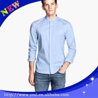 Cotton oxford blue corner shirt