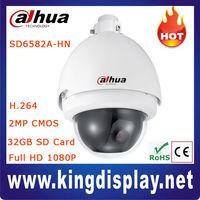 Cheap Outdoor H.264 2Megapixel Full HD 1080P CMOS Dahua IP Network PTZ Dome Surveillance Security Camera, 20x optical zoom