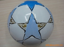 2015 new design cool official footballs Manufacturers selling PVC sewing football