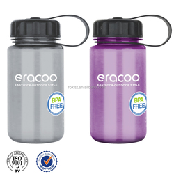 Nice with filter reusable plastic sport water bottle
