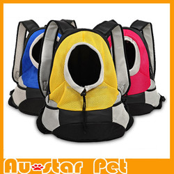 Size S or M Good Quality Sandwich Mesh Fabrics Pet Travel Carrier Pet Shopping Bag Dog Carrier