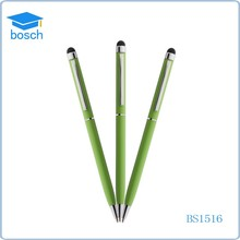 2015 Promotional hot selling metal slim cross custom logo touch pen, touch screen pen, stylus touch pen