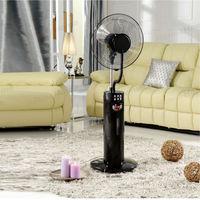 wholesale LED display Mist fan air humidifier summer cooling fan