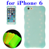 Fast delivery Luminous Silicone phone case for iPhone 6