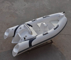 Liya 3.8m hot sale inflatable dinghy sport boat rib for sale