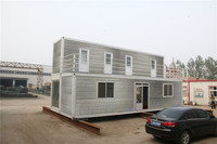 movable portable used  modified shipping contianer house