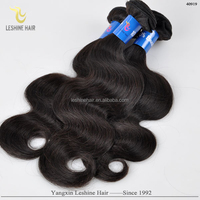 2015 Hot Selling Cut From Young Girls Indian Wavy Hair Weave