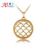 Have Spot, Women Fashion Concise Designs Fine Carving Platinum/Gold Plated Necklace Pendant Alloy Jewelry Gifts For Women/Men