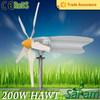Rated 200W high efficiency wind power generator