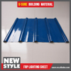Wholesale plastic resin material fiberglass plastic roof tile