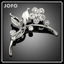Women Jewelry Brooch Clothing Accessories A Bunch of Flowers Hijab Pin DRJ0268