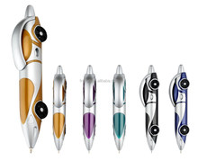 Novelty racing car shape toy pen promotion car ball pen