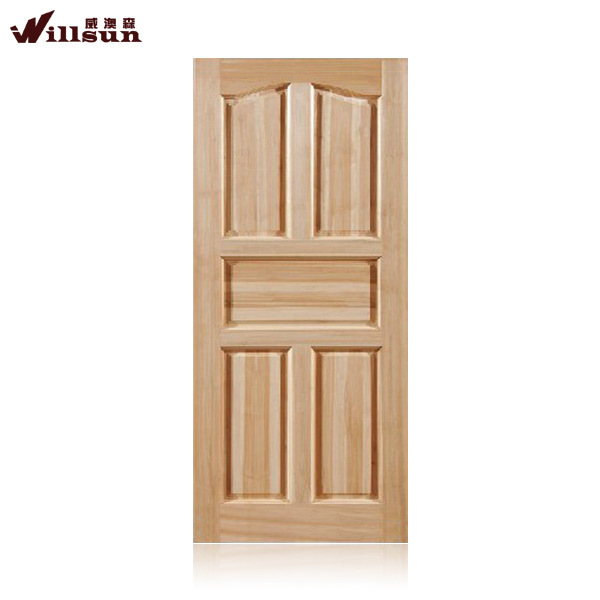 Hot sale cheap solid wood door frame oak interior doors for Solid wood exterior doors for sale