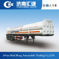 3axle 40ft 8 Jumbo tube CNG bundle container semi trailer for sale