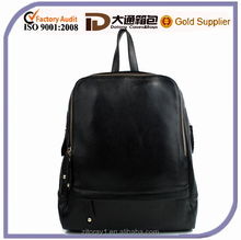 Women vintage leather backpack from china