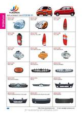 YUEERDA JUHAO catalog page 1-2 ChangZhou auto accessories KOREAN CARS HYUNDAI ATOS 1998 2001 china parts