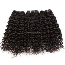 2013 superior quality brazilian hair French curl permanent hair extensions