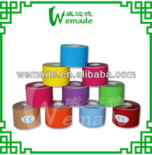 Blood Promotion Hot-melt Waterproof 5cm*5m surgical/athletic/ medical tape Kinesiology sports Tapes