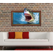 Newest wholesale 3D Fashion Wall Sticker Art home Decor Mural Kids Room Home Decoration Removable For Christmas gift 3D-014