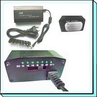 100W AC/DC aluminium universal laptop adpter with 8 tips
