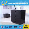 free standing living room drawer chest ikea bedroom nightstand wooden storage cabinets