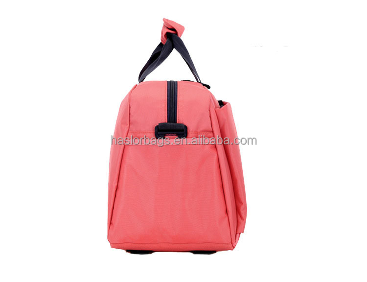 Nouveau Design grande capacité rouge Nylon Sport sac de sport, Mode Gym Duffle Bag
