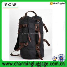 fashion style tote vintage canvas backpack wholesale