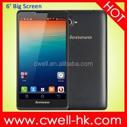 Lenovo A889 MTK6582 Quad Core Android 4.2 1GB RAM 8GB ROM 8.0MP Camera WIFI GPS 6 inch Smartphone