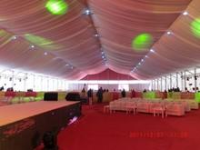 Big garden marquee party tent for outdoor luxury weddings