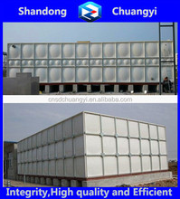 High Quality GRP/FRP Sectional Water Tank for Drinking Water/ Irrigation/Firefighting ISO9001