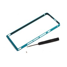 New Product Top Quality Ultra Thin Pc Back+Luxury Meta Aluminum Frame Case Cover For Huawei Ascend P6 Protective Shell Screwless