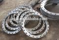 forjado ansi estándar de gran diámetro de acero al carbono bridas de la tubería