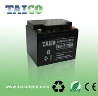 Solar street light battery 12v 40ah VRLA battery