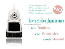 TCP/IP Alarm HD Camera Network Audio Night Vision /WIFI Camera Security Alarm