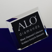 frame photo acrylic logo clear acrylic block