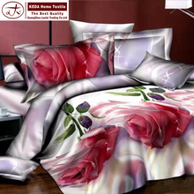 A wide selection of colors and design Cotton Reactive Print 3D bedding sets