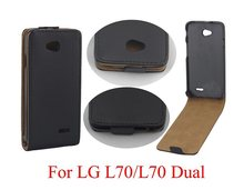 New Luxury Flip Leather Case Cover For LG L70 D320 D325 L70 Dual Mobile Phone Bag Business Style