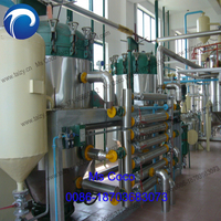50TPD automatic coconut mustard oil expeller refining machine